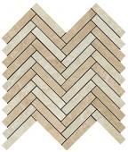 Керамическая плитка Force Light Herringbone Mosaic 29.8x29.3 Lucida
